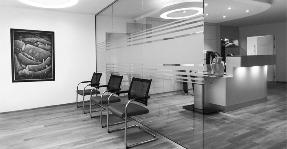 Ansicht Praxis Dr. Langer, Arzt für Augenheilkunde und Augenlaser in Rotkreuz Kanton Zug